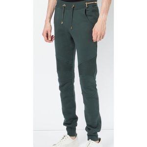Balmain Men's Biker Sweatpants